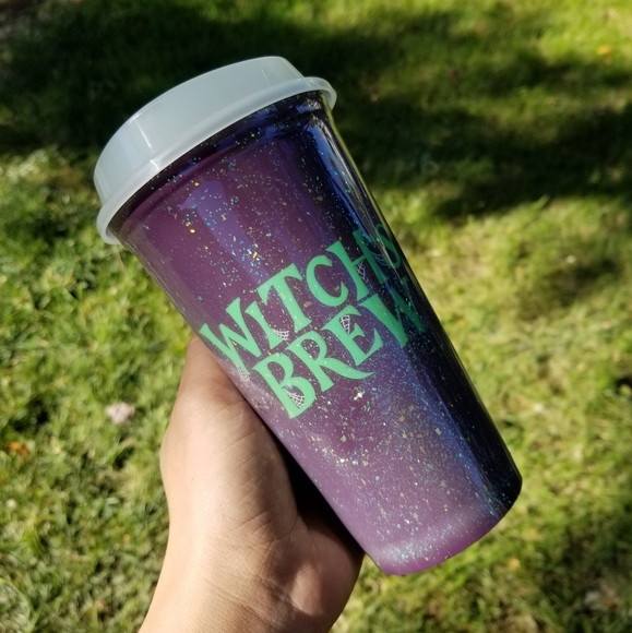 Personalized Starbucks Venti Cup Witches Brew Halloween